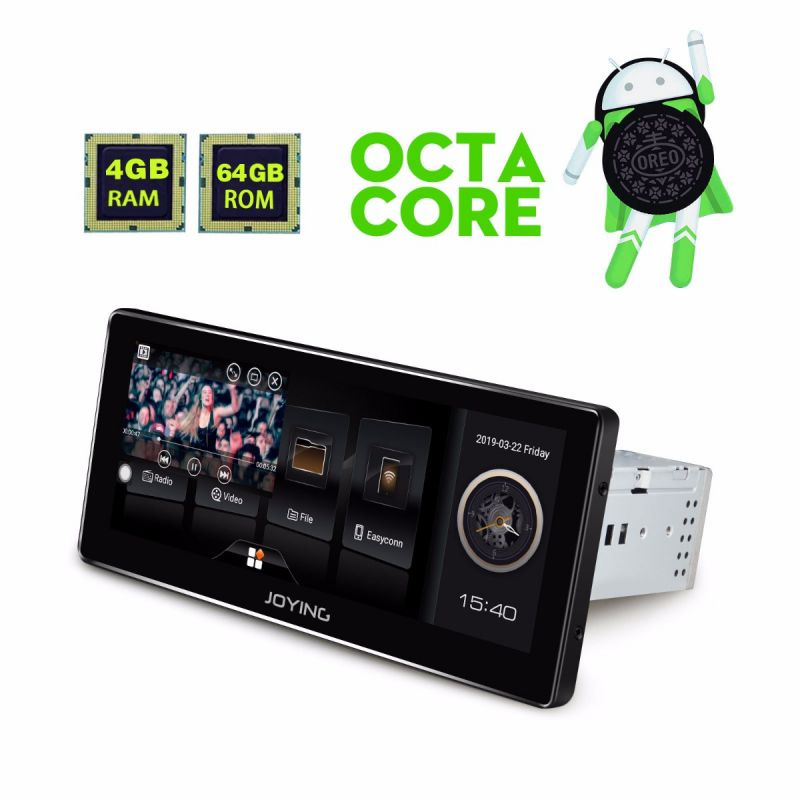 1 din touch screen android auto head unit