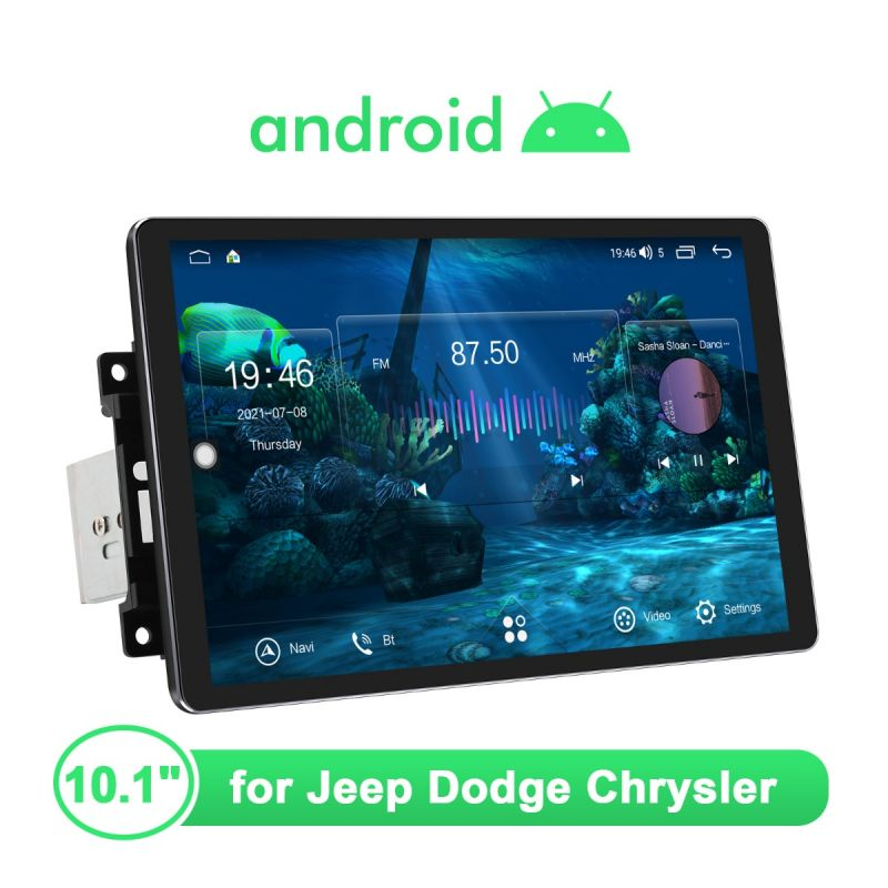 Joying Jeep Dodge Chysler 1280X800 Resolution Android Car Stereo Replacement