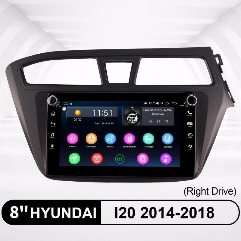 hyundai i20 android stereo replacement