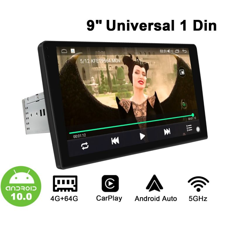 9 inch single din stereo