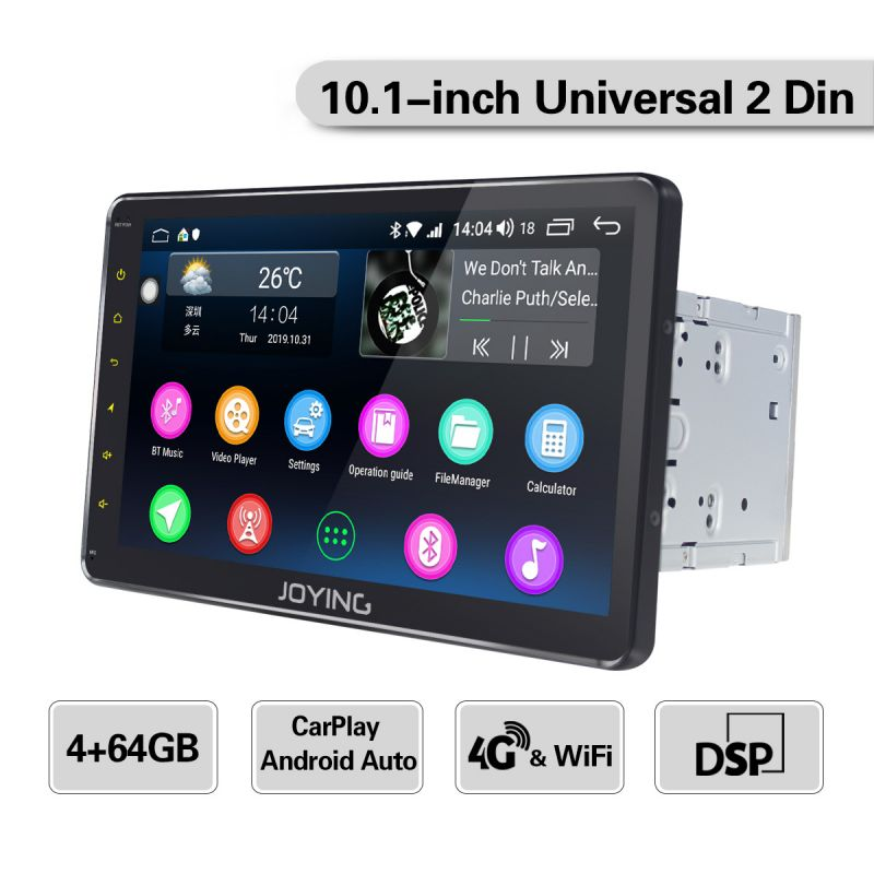 android car radio double din car audio system