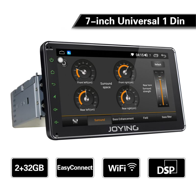 7 inch single din car radio