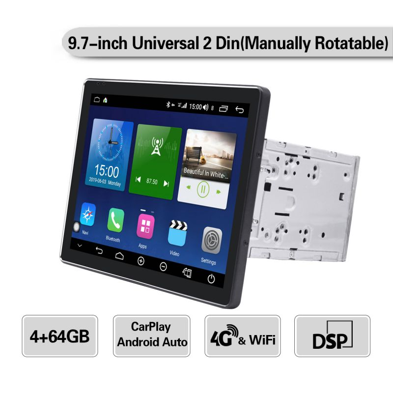 android 8.1 double din octa core car gps navigation system