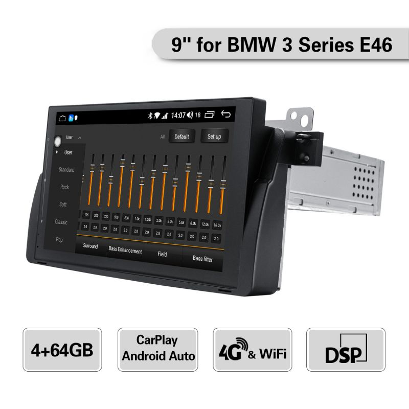android auto system radio for bmw