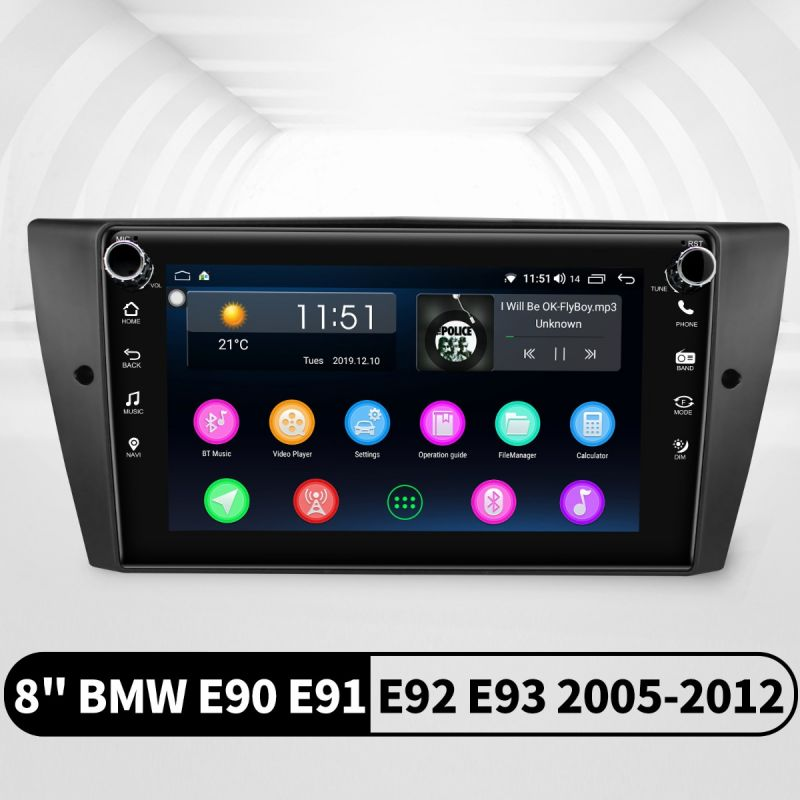 bmw e90 android car radio