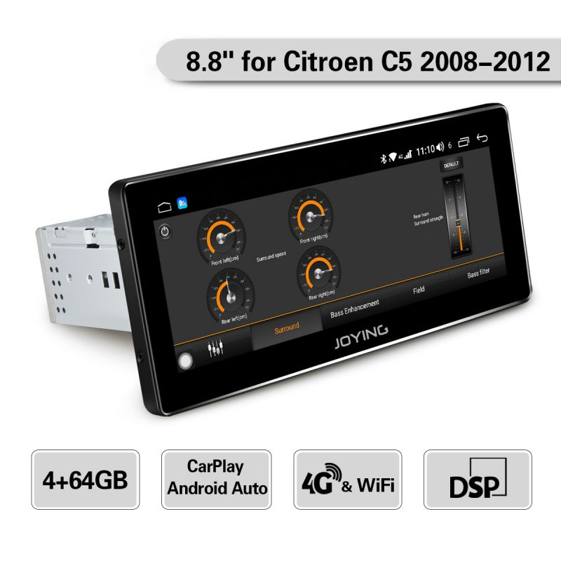 citroen c5 car stereo upgrade