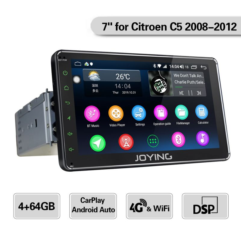 Citroen single din gps navigation system