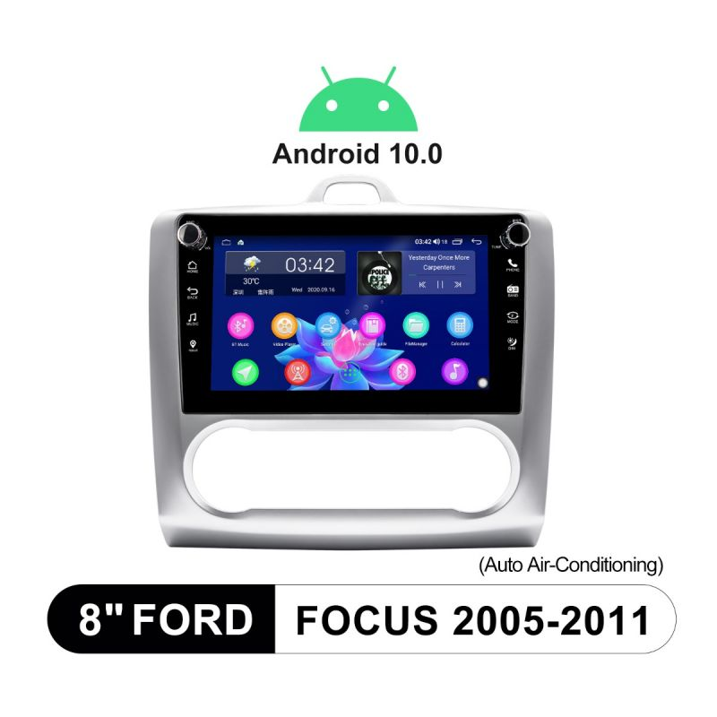 ford focus autoradio android 10 system