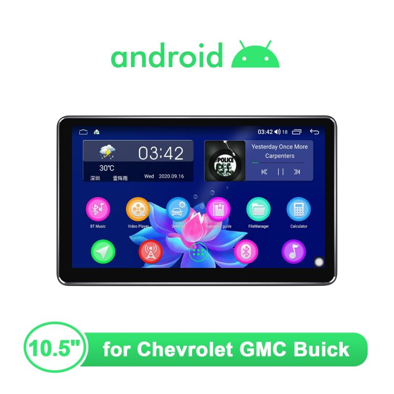 Chevrolet android stereo