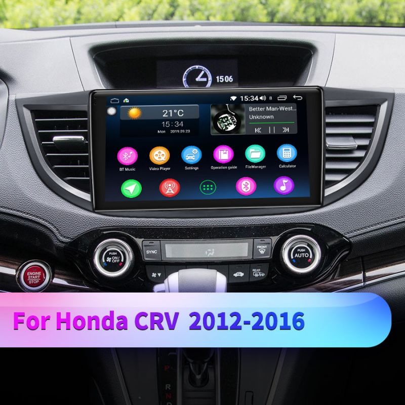 honda crv head unit