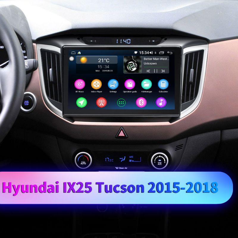 hyundai ix25 car audio system