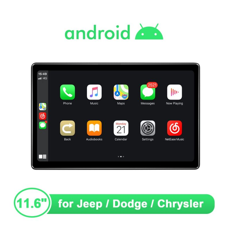 jeep wrangler android head unit