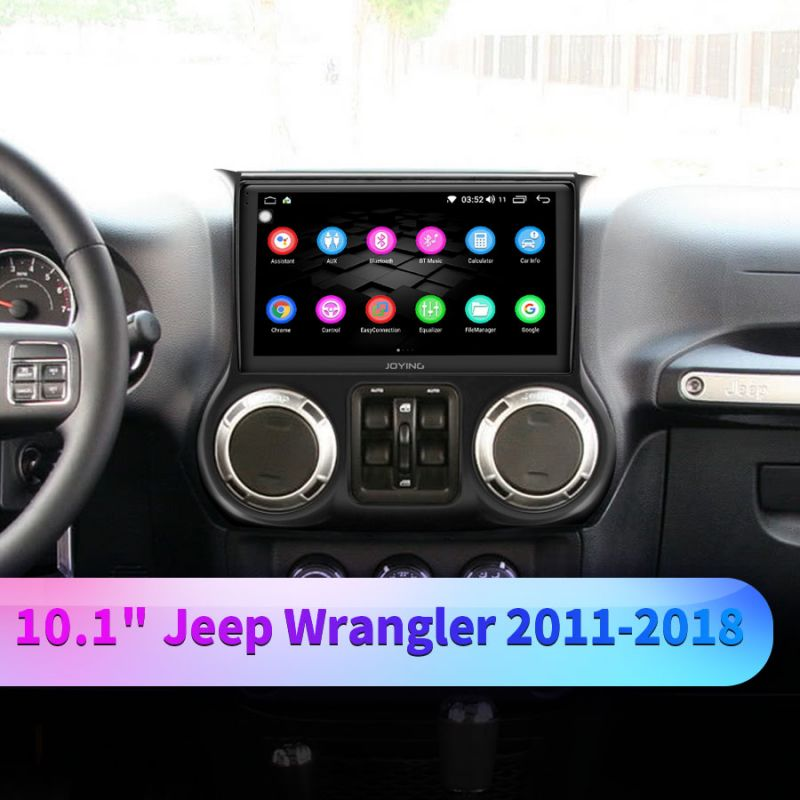jeep wrangler android head unit