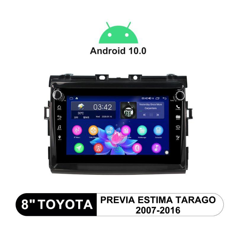 Joying 8 Inch Plug-And-Play Head Unit For 2007-2016 Toyota Previa Estima Tarago