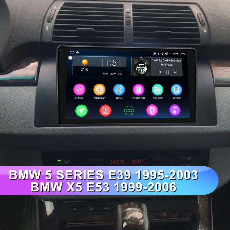 bmw e39 head unit