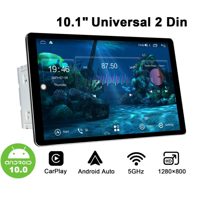 android 10.1 2din stereo
