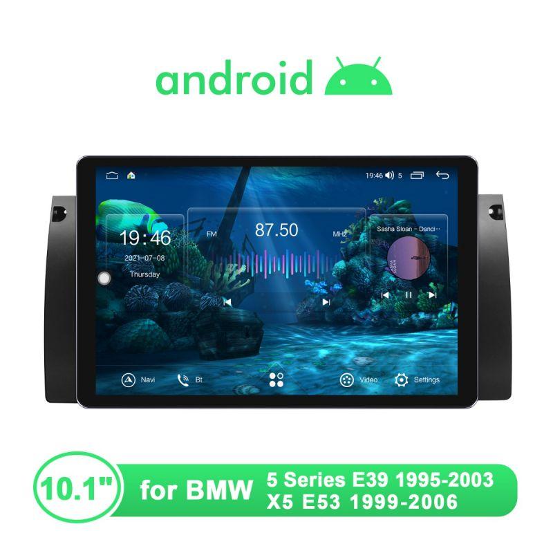 Joying New UI Plug-And-Play Head Unit For BMW E39 E53 Apple CarPlay & Android Auto