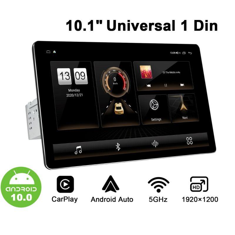 HD 1920X1200 10.1 Single din