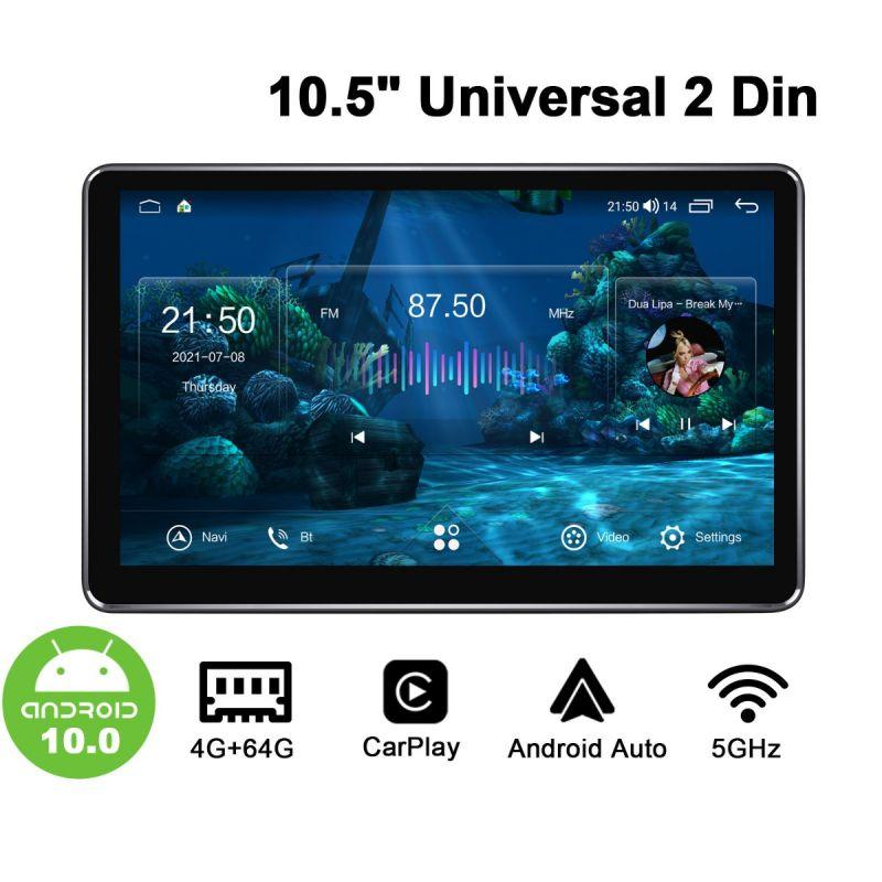 Joying Newest UI 10.5 Inch Double Din Car Radio Navigation HD Screen