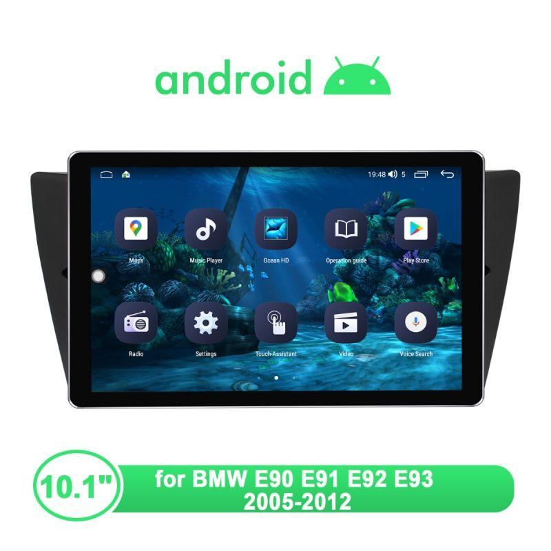 Joying Newly UI Android Head Unit For BMW E90 E91 E92 E93 With 1280X800 IPS Screen