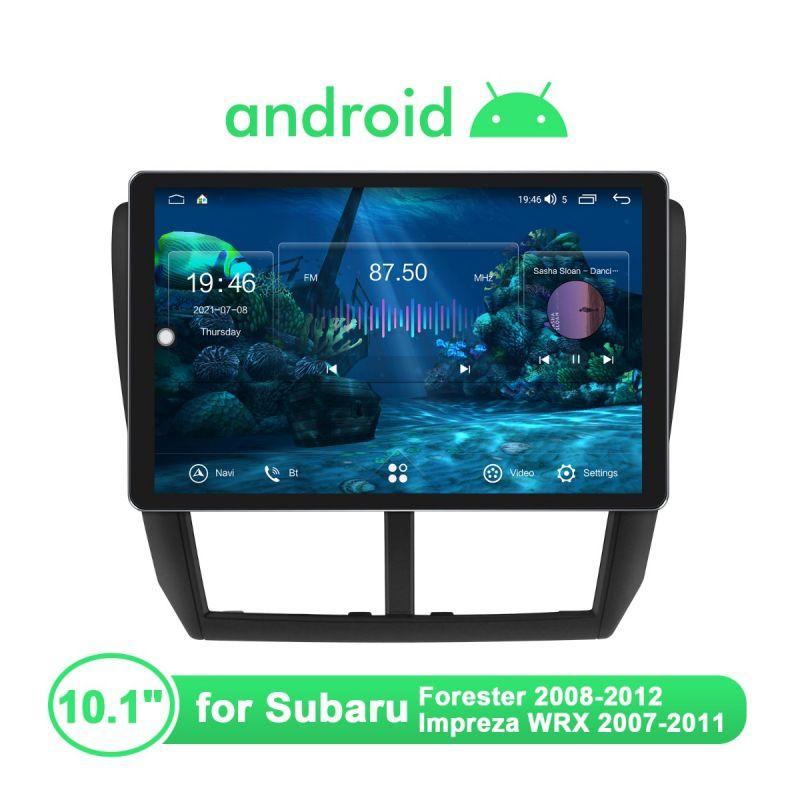 Joying Newly UI Android Car Radio For Subaru Forester 2008-2012 Impreza WRX 2007-2011