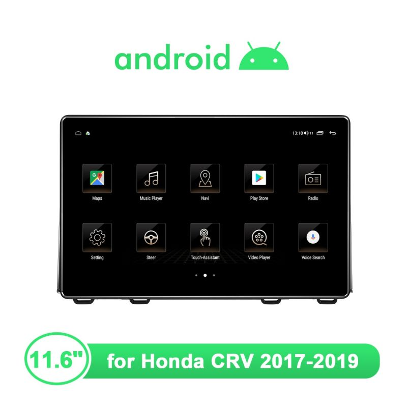 hd touch screen android car media player