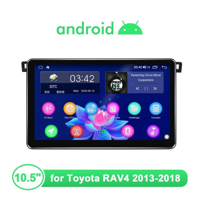Joying Toyota RAV4 2013-2018 10.5 Inch 1280x720 HD Screen Car Stereo