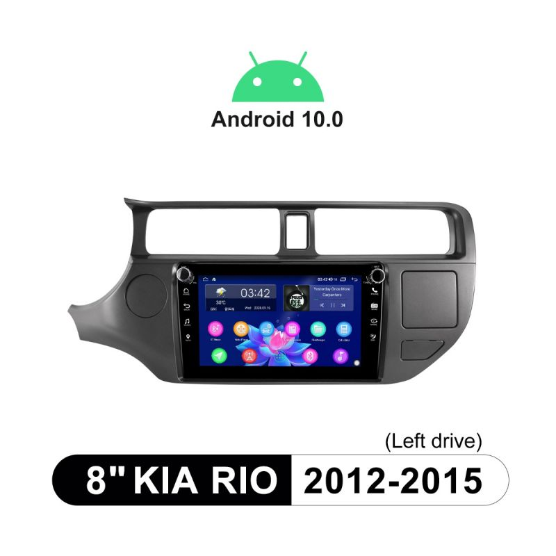 kia rio head unit