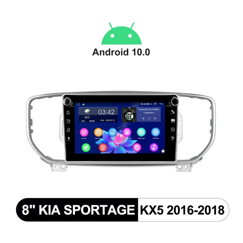 Kia Sportage Radio Upgrade