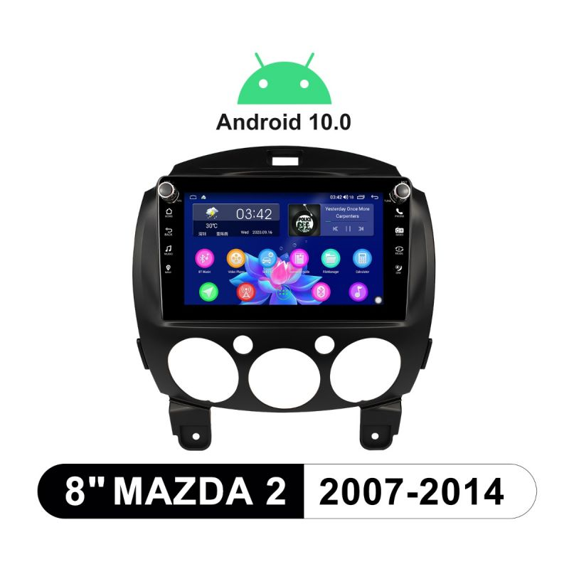 mazda 2 android stereo upgrade