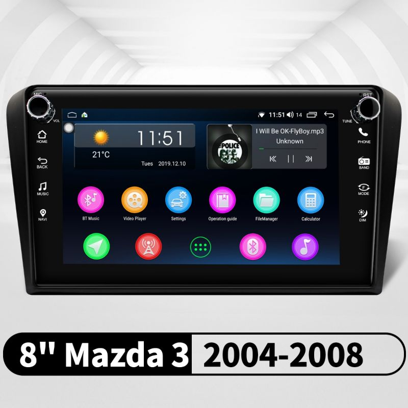 mazda 3 android media player