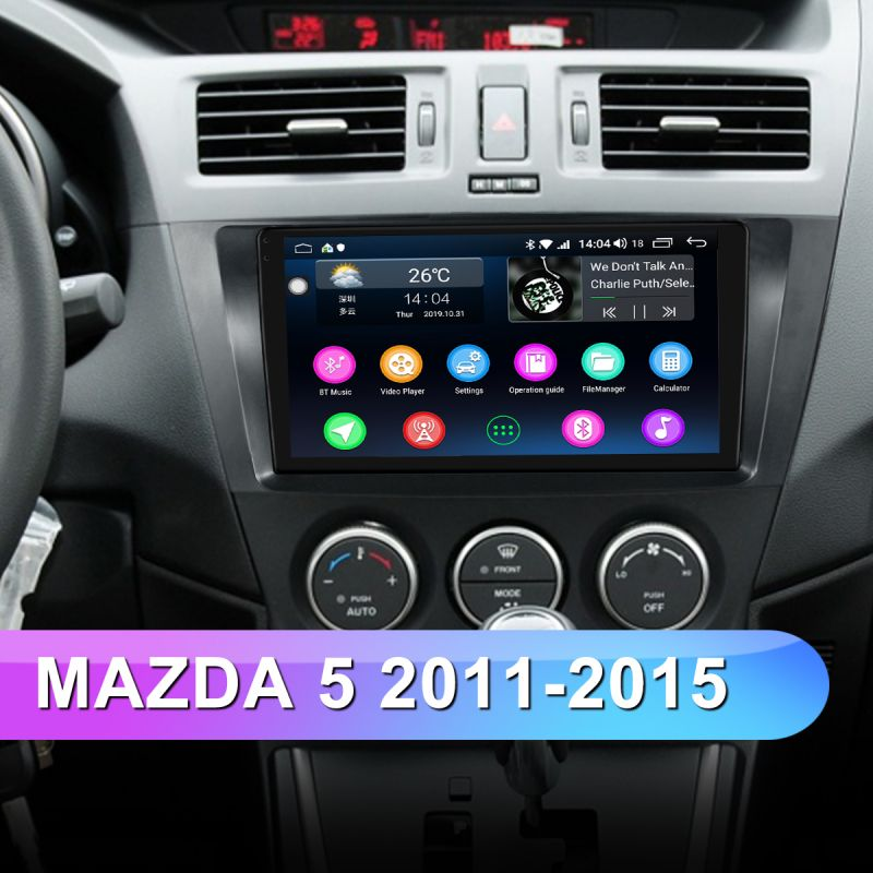 mazda 5 car stereo replacement