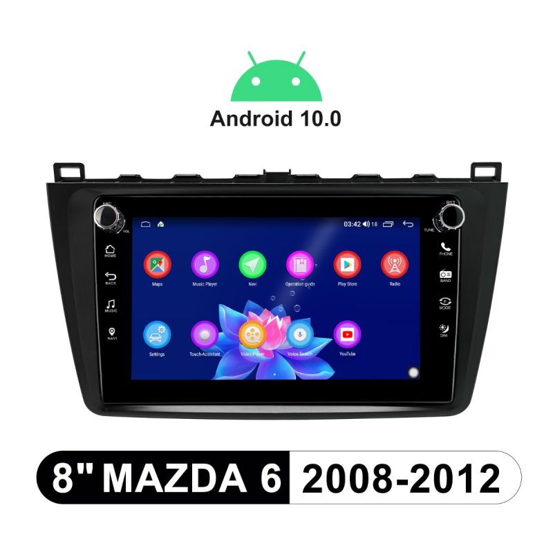 mazda 6 car stereo replacement
