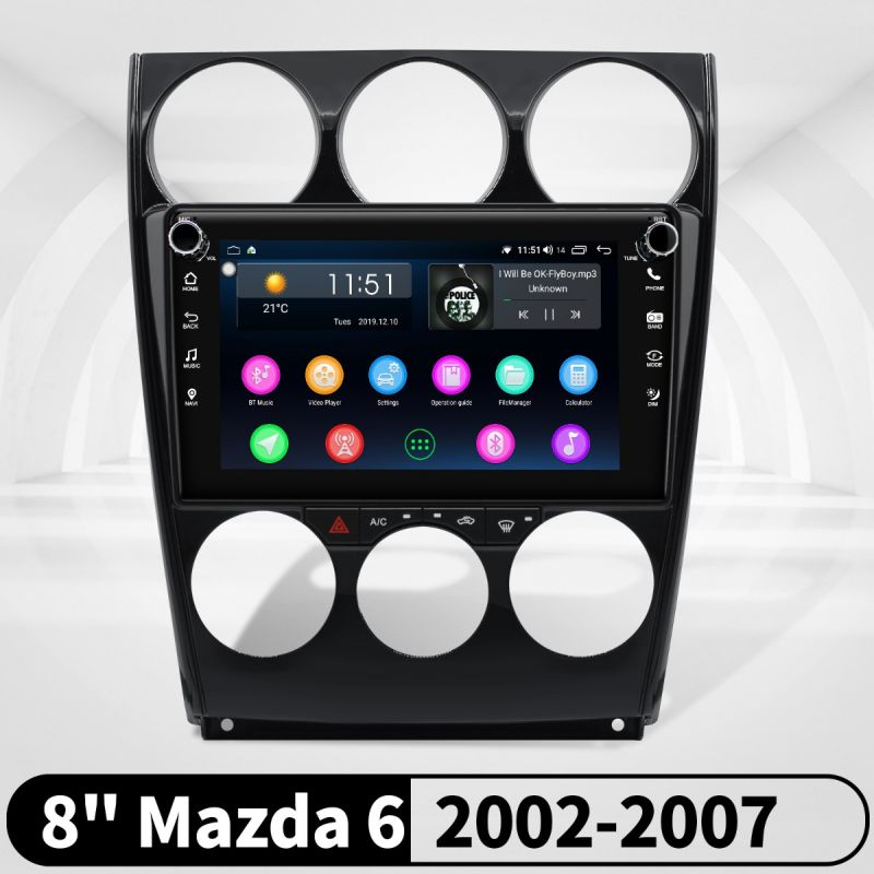 mazda 6 android radio
