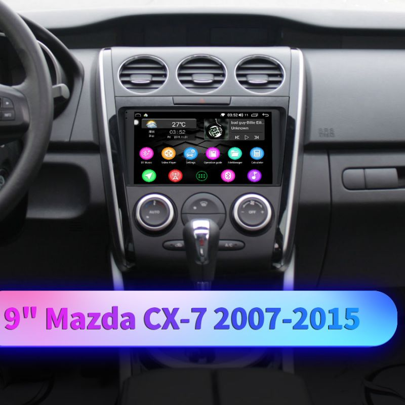 mazda cx-7 android gps radio