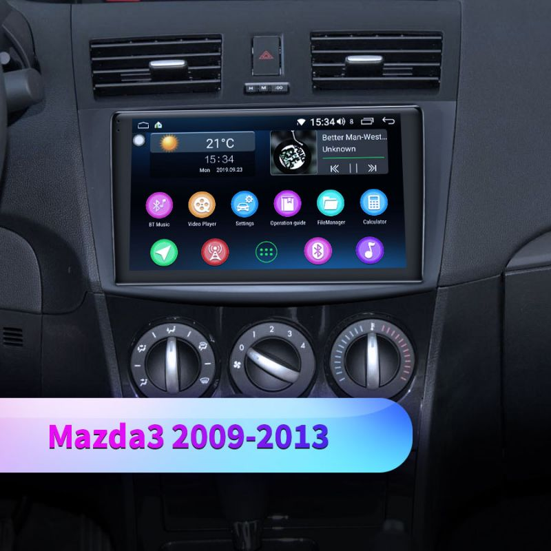 mazda android radio