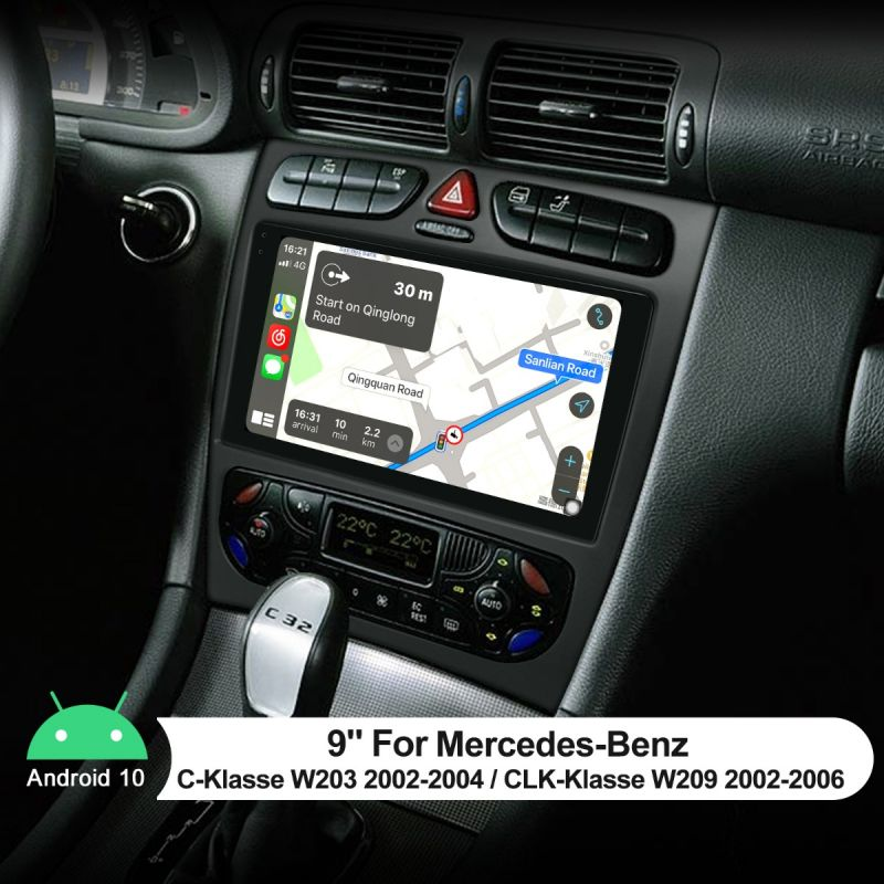 mercedes w209 android stereo
