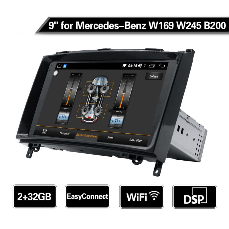 mercedes benz android radio