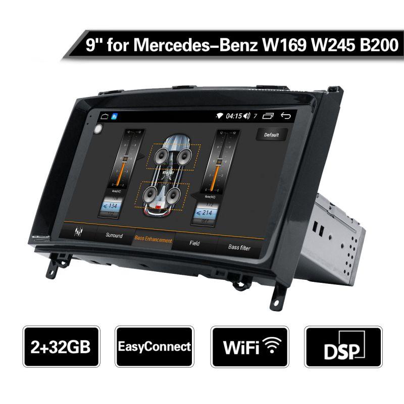 Joying EU New 4G LTE Autoradio for Mercedes-Benz W169 W245 B200 Android 8.1.0 System