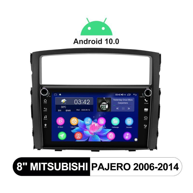 mitsubishi pajero android head unit