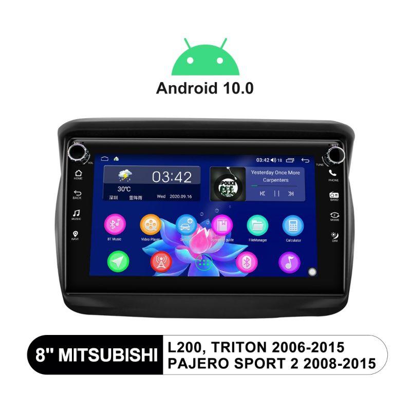 Mitsubishi Pajero head unit android 10