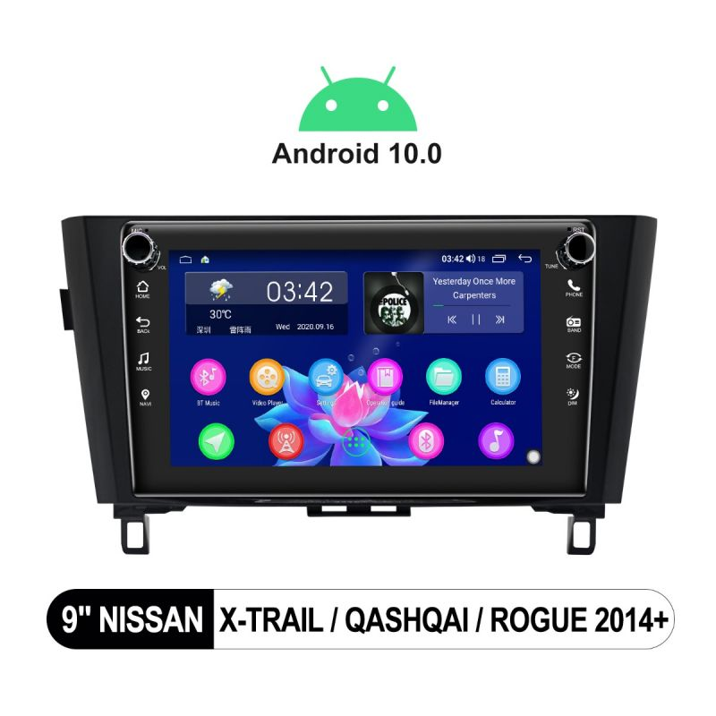 nissan qashqai head unit upgrade