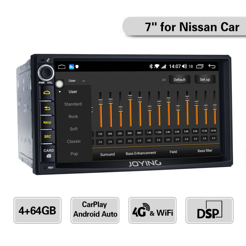 nissan car stereo upgrade