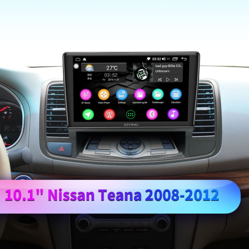 nissan teana android car sudio system