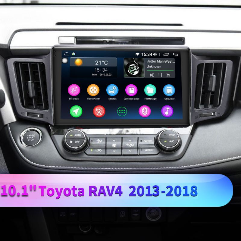 toyota rav4 android car media