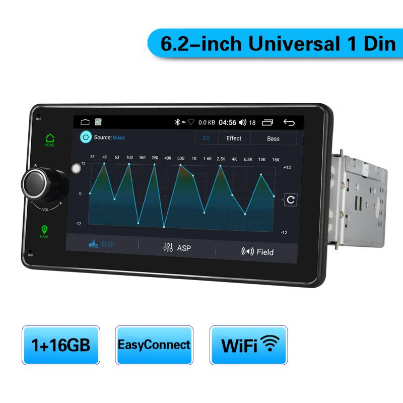 android car stereo single din