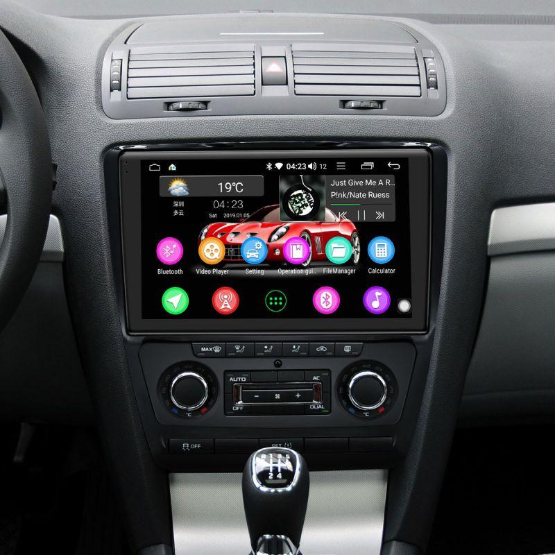 skoda octavia android car radio replacement