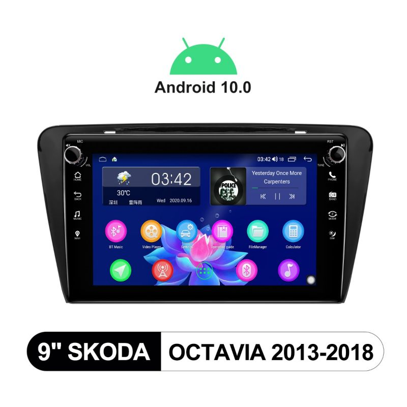 skoda octavia Android 10 head unit