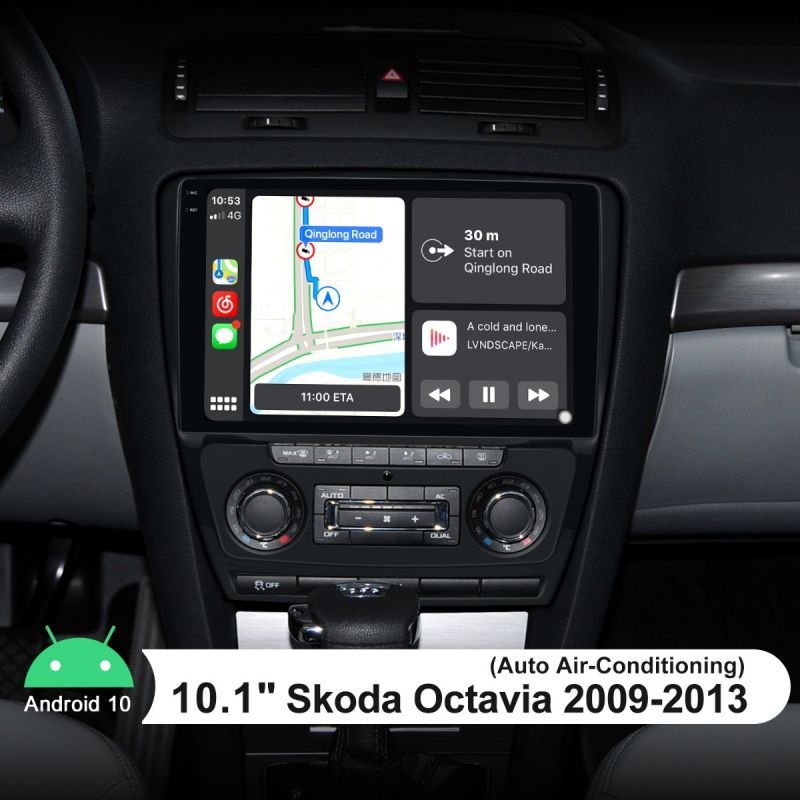skoda octavia android car sound system