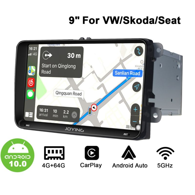 vw android 10 car radio upgrade